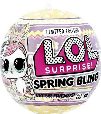 LOL Surprise SPRING BLING HOPS KIT-TEA Limited Edition PET Brand New In Hand