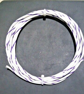 12 Awg Mil-spec Wire Type E Whtvio Ptfe Stranded Silver Plated Copper10 Ft