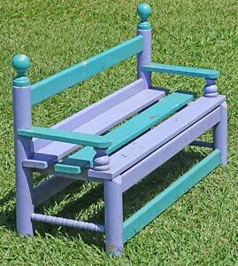 Solid Timber 2 seater Kiddy's Garden Bench Kallangur Pine Rivers Area Preview