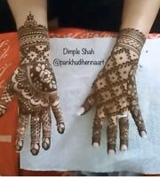 Bridal /Party Henna artist in GTA at affordable rates.