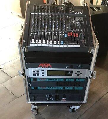 pa anlage komplett ASA geeignet für DJ, Alleinunterhalter und Bands Mit DJ Pult gebraucht kaufen  Büren