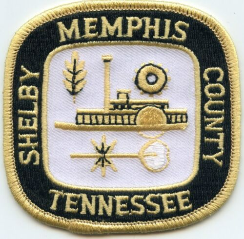 MEMPHIS SHELBY COUNTY TENNESSEE TN CITY SEAL sheriff police PATCH