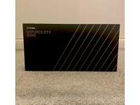 NVIDIA GeForce RTX 3090 Founders Edition 24GB Graphics Card GPU