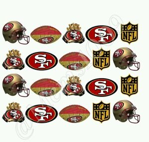 NFL San Francisco 49ers Nail art water decals Free shipping!!