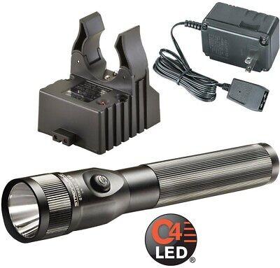 Flashlight Stinger Pro w/ On/Off Push Button Switch, AC Cord