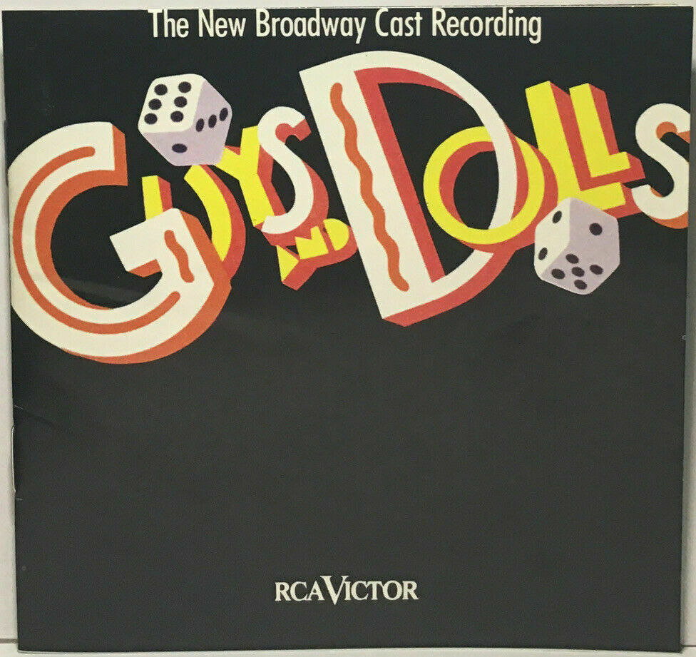 Guys And Dolls 1992 Broadway Revival Cast By CD, 1992, RCA GOOD USED COPY - $7.99