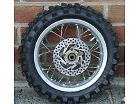 Motorcycle KTM MX 50cc BACK WHEEL