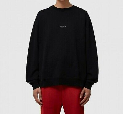 Mens Acne Studios Crewneck Black Sweater (LA1.) RRP £209.99