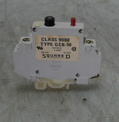 Square D Circut Breaker Class 9080 Type GCB-50, Series B, Used, WARRANTY