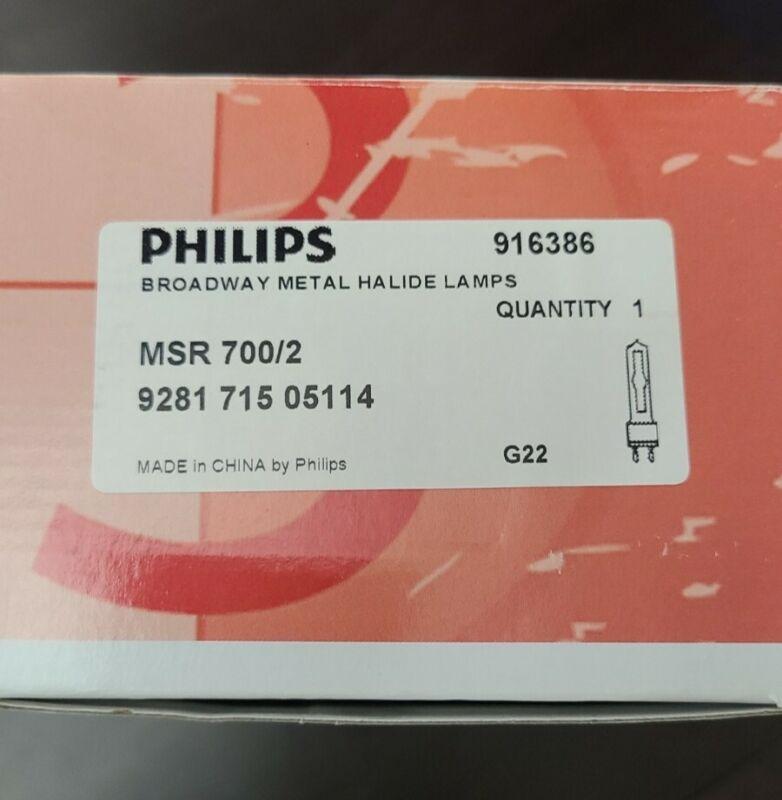 Philips MSR 700/2 Broadway Philips Lamp Bulb Msr700/2 G22