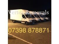 AFFORDABLE SHORT NOTICE MAN AND VAN HIRE REMOVAL DELIVERY HOUSE FLAT OFFICE SERVICE 24/7