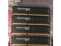 Apple 16GB 4x4GB Memory PC3-14900E DDR3-1866mhz Mac Pro PC 2013