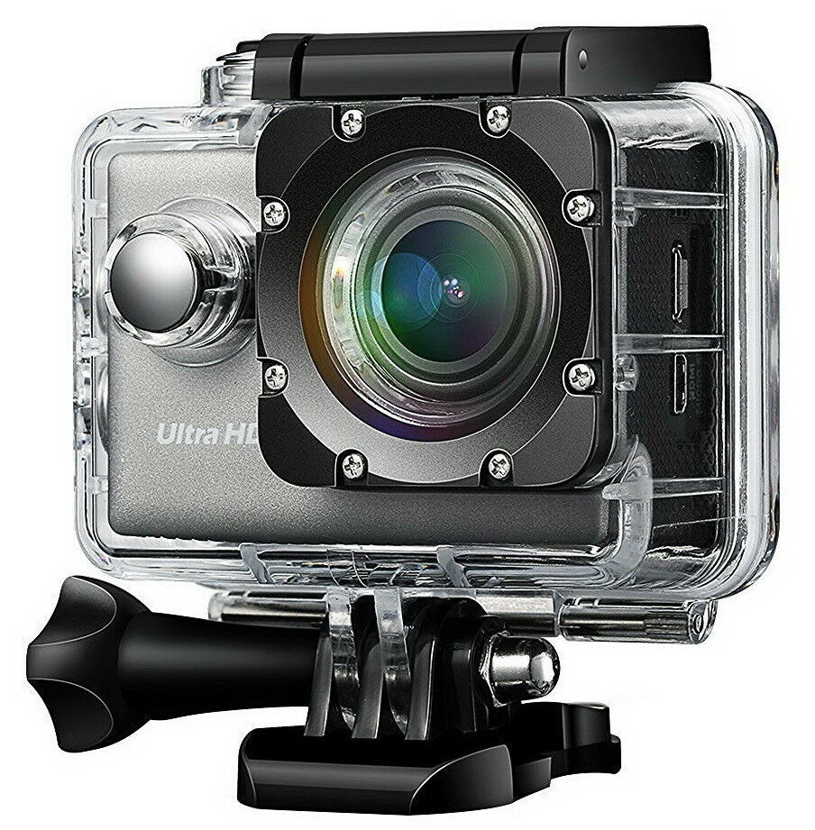 Difini Action Camera 4K WiFi Ultra HD Waterproof Sport Camer