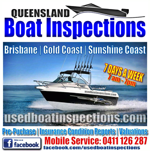 MOBILE BOAT INSPECTIONS / CONDITION REPORTS BRISBANE & GOLD COAST Carindale Brisbane South East Preview