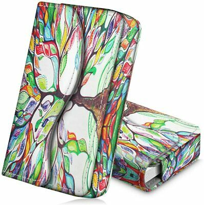 Pu Leather Business Card Holder Name Card Bag Wallet Case Organizer - Love Tree