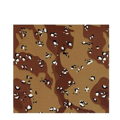 Film Water Transfer Printing Hydrographics Desert Camo Brown Dipping 0.5x2m