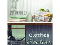 Dressmaker, Alterations and Ironing service