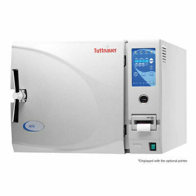 New Tuttnauer 3870ea Fully Automatic Large Capacity Autoclave Chamber 15 X 30