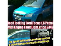 Ford Focus £450 **Quick Sale** Going Away Not Peugeot Vauxhall Renault audi Bmw seat