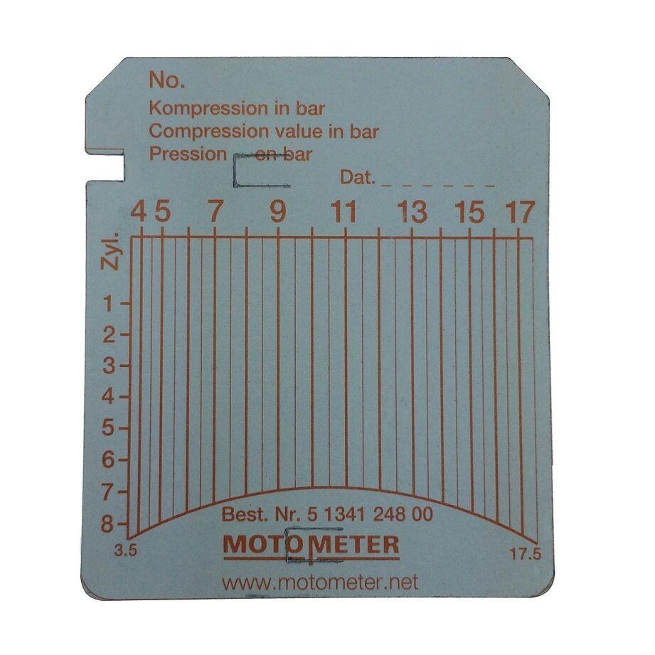 5134124800 :: Diagramm-Blätter MOTOMETER 100 Stk. 3,5 - 17,5 bar ...