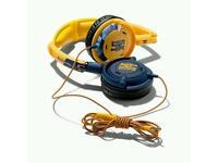 Skullcandy Lowrider Headphones (Yellow/Navy) - S5LWDY-143