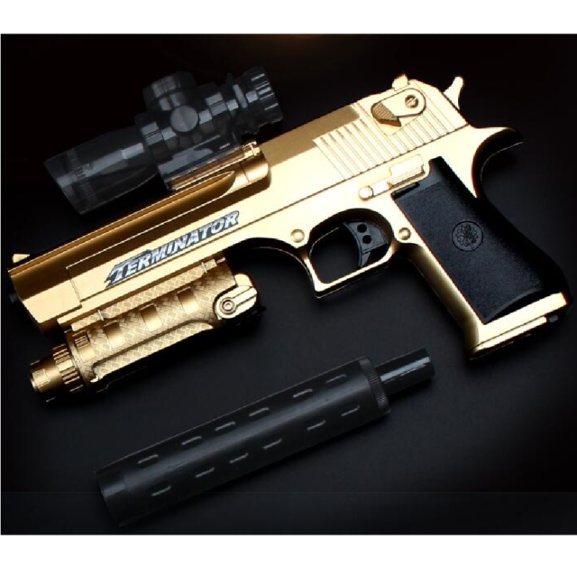 Toy Beretta M9 Gel Bullet Water Gun Toy Can be charged Present Gift for Boys Kid