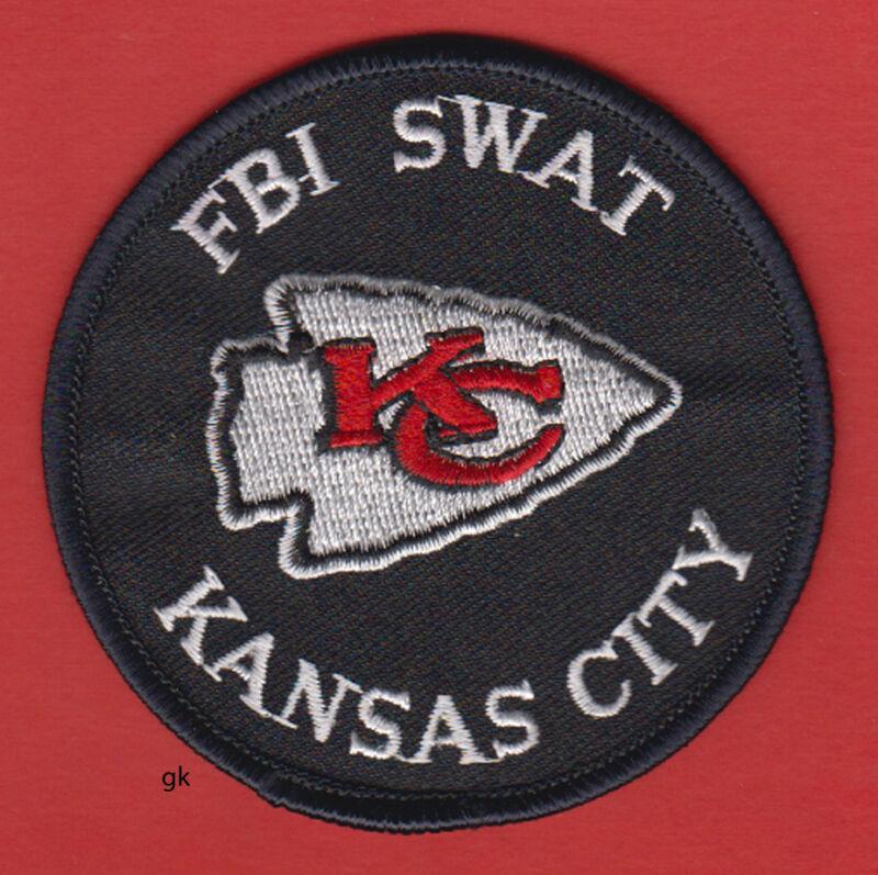 KANSAS CITY MISSOURI FBI SWAT POLICE SHOULDER  PATCH