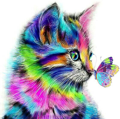 Cat Diamond Painting Kits for Kids Gem Painting Kits for Adults 5D Crystal Art](Kits For Kids)