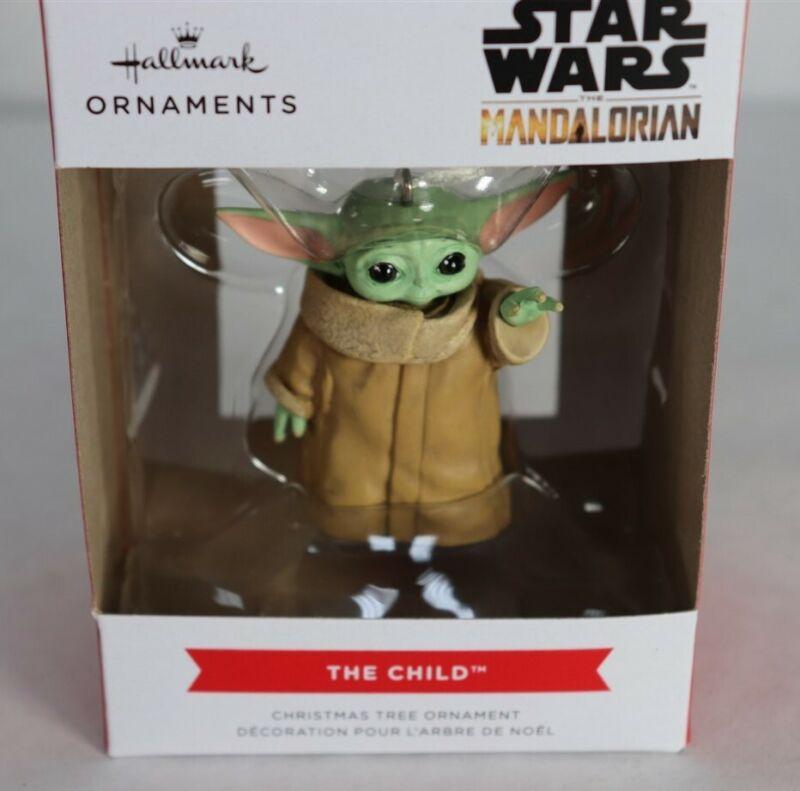 2021 Hallmark Star Wars The Mandalorian The Child Ornament New