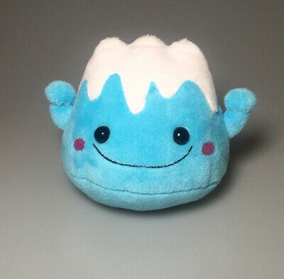 Japan Mount Fuji Plush Stuffed Animal Blue White Mountain Volcano 3775 Toy -