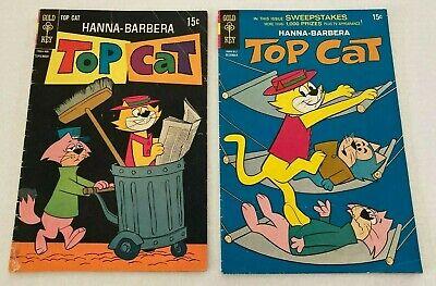 Gold Key Comics Top Cat #27 and #28, 1969