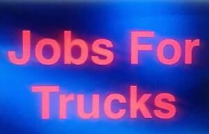 Trucks needed Sydney City Inner Sydney Preview