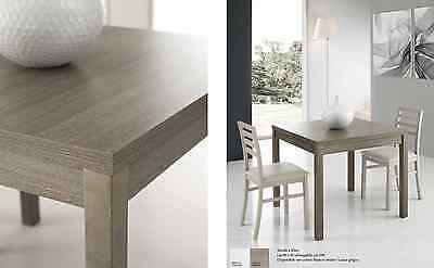 tavolo da cucina soggiorno a libro in legno allungabile