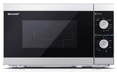 Mikrowelle Grillfunktion 1000 Watt 20 Liter 5 Leistungsstufen SHARP YC-MG01ES
