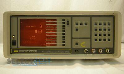 Wayne Kerr 6425 Component Analyzer Impedance Lcr Meter 42 Hz - 300 Khz