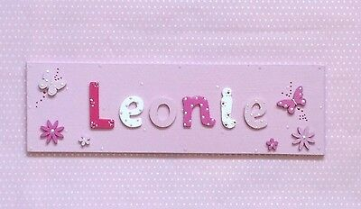 Personalised Name Plaque Present Gift Children Boys Girls Twins Best Friend