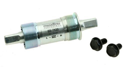 TH Industries Power Pro 7420 Square Taper Bottom Bracket JIS 73mm x 127.5mm NEW