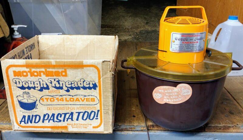 Vintage Motorized Dough Kneader / Bread - Sharon Metal Stamping Co. Works