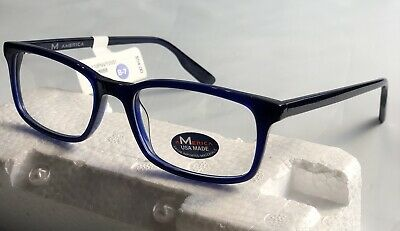 America MU110 Navy  Boys/men 51-18-145 Eyeglasses frame (America Eye Glasses)