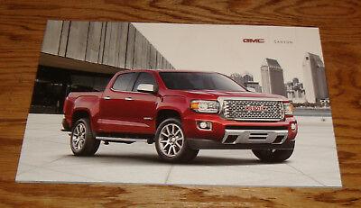 Original 2017 GMC Canyon Truck Sales Brochure 17 Denali All Terrain SL SLE SLT