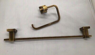 Accesorios baño Modelo Mia - 2 piezas bronce