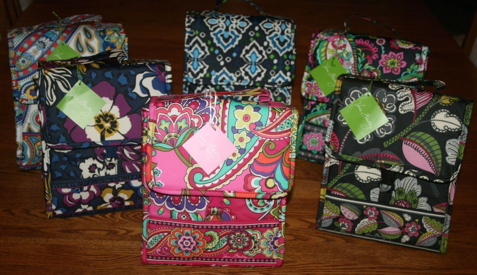 Vera Bradley LUNCH SACK Insulated Bag tote bunch case box la