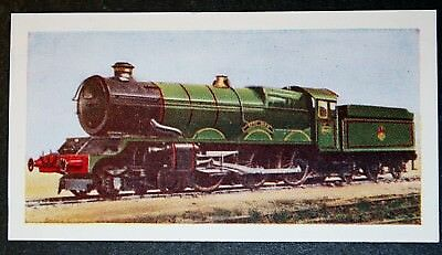 GWR  King Class   No 6026  King John  Steam Locomotive  Vintage Colour Card