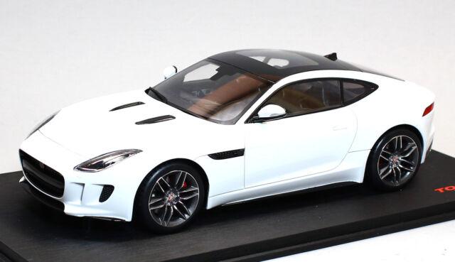 TS0008 Topspeed 1 18 Jaguar Ftype R Coupe Polaris White  eBay