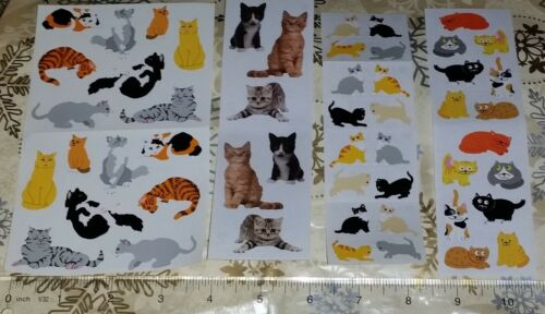 Various Mrs Grossman Cute Real Funny Kitty Cat Stickers Lot #2 - FREE SHIPPING!