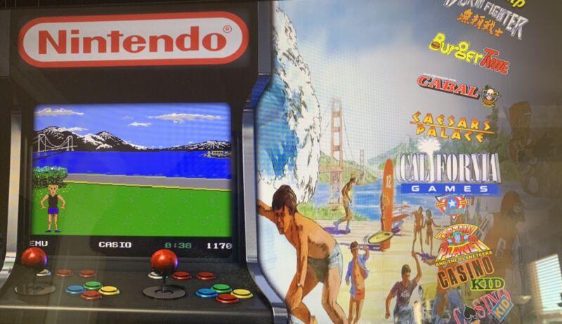 COINOPS X ADDON X LEGENDS ULTIMATE ARCADE NES NINTENDO 650+ GAMES 64GB USB ALU