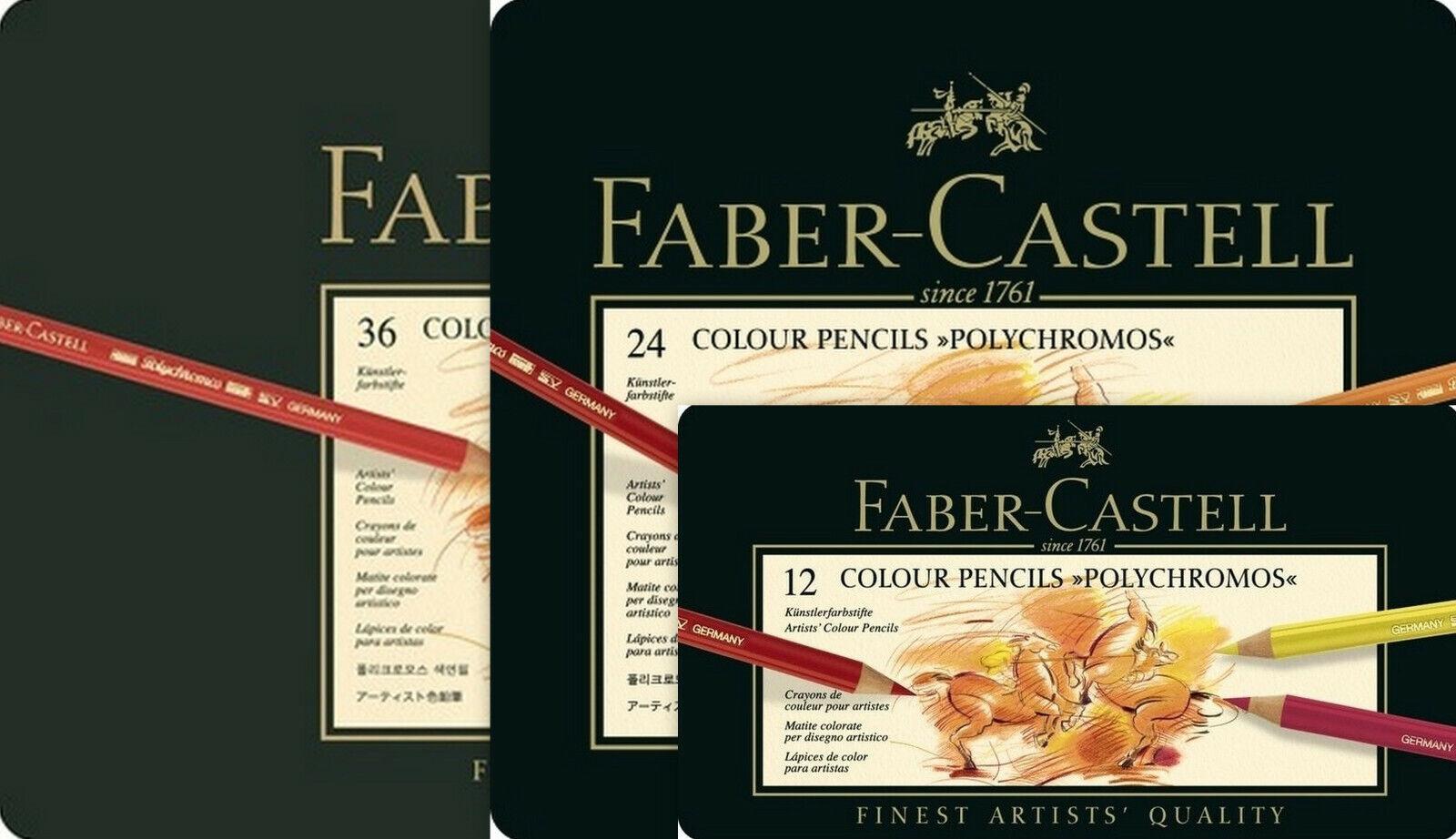 68 Faber-Castell POLYCHROMOS Farbstifte Künstlerfarbstifte Fanedition bestprice!