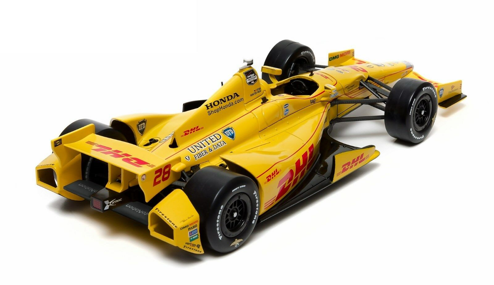 Reay Andretti Autosport Dhl Diecast Model Car 1 18 10957 Ebay