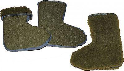 Stiefelsocken für Kinder warm flauschig Stiefelstrümpfe Faserpelz