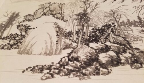 Wang Shimin 王时敏 Antique Chinese Landscape Painting